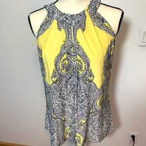 Inc international concepts size large yellow black